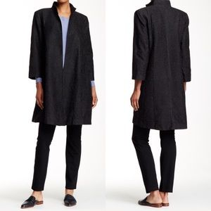 Eileen Fisher Embroidered Coat